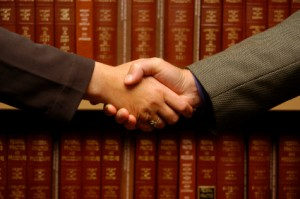 Best Chicago divorce lawyer - handshake